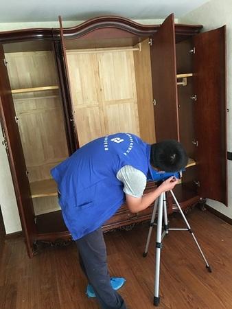 中海国际社区8号公馆刘先生家中室内环境检测